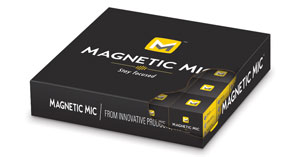 Magnetic Mic Bulk Pack Box
