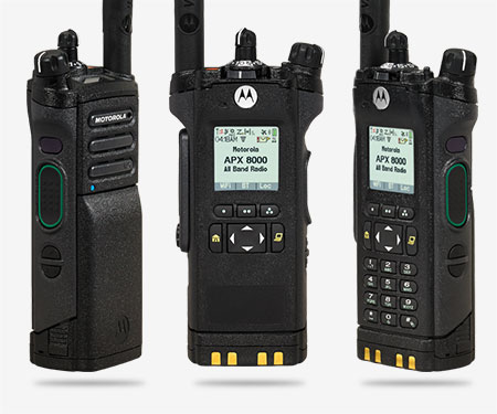 Mission Critical Public Safety Two Way Radios Air Comm