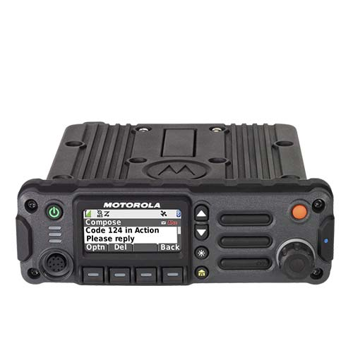 Motorola APX 4500 P25 Mobile Two-Way Radios by Air Comm