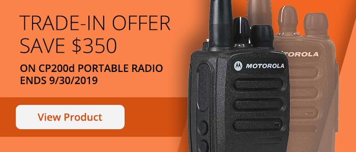 CP200d radio trade in offer